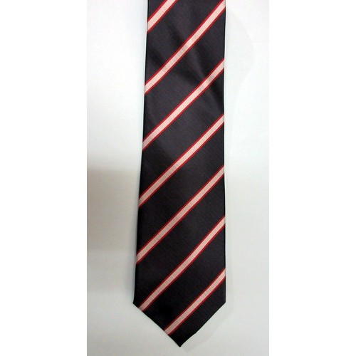Old Rossallian Polyester Tie (Stripe)