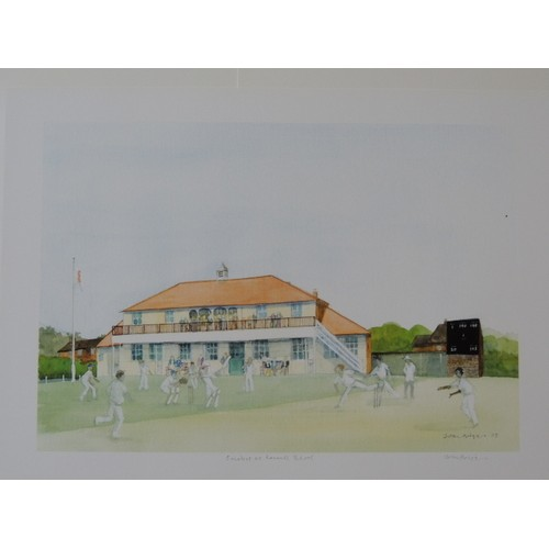 Rossall Cricket School Print Only